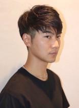 松田翔太風2ブロックショート(髪型メンズ)