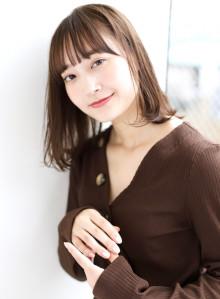 大人かわいいミディアム×小顔ワンカール☆(ビューティーナビ)