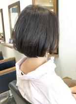 30、40代似合う◎丸顔◎手入れ簡単◎(髪型ボブ)