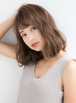 30代40代おすすめ ふんわりミディアム(髪型ミディアム)