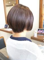 30、40代似合う◎丸顔◎手入れ簡単◎(髪型ショートヘア)