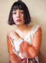 ラフパーマ☆タンバルモリボブ(髪型ボブ)