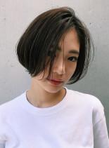 ゆらぐオトナショートボブ(髪型ショートヘア)