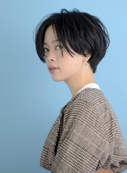 大人サイドグラ(髪型ショートヘア)