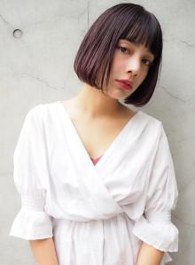 プツッとバング☆小顔ボブ(ビューティーナビ)