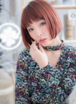 色めきときめく☆スポンテニアスカラー(髪型ボブ)