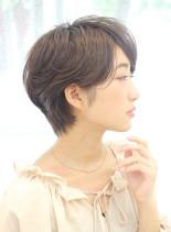 大人女子の柔らか上品ショート☆(髪型ショートヘア)