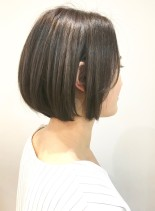 30代・40代◎大人女性のミニボブ(髪型ボブ)