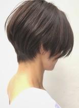 40代・50代に人気の簡単ショートボブ(髪型ショートヘア)