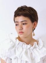 大人のベリーショート(髪型ベリーショート)