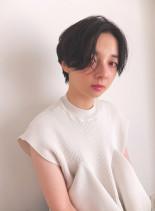 大人ウェットショート(髪型ショートヘア)