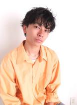 ラフウェービー(髪型メンズ)