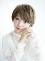 甘リッチなミニマル上品ショートスタイル(髪型ショートヘア)