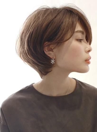 30代40代☆大人のショートボブ(髪型ショートヘア)