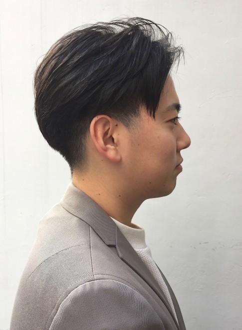 髪型 ツー ブロック メンズ