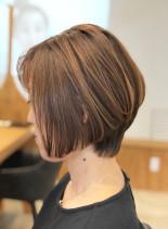 大人のショートヘア/20代30代40代(髪型ショートヘア)