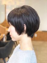 大人ショートヘア/20代30代40代(髪型ショートヘア)