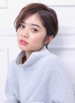 大人可愛い☆ハンサムショート(髪型ショートヘア)
