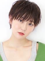 ☆大人のコンパクトウェットショート☆(髪型ショートヘア)