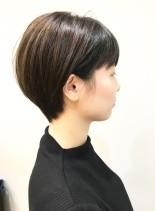 30代・40代◎スッキリ大人ショート(髪型ショートヘア)