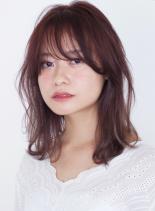大人可愛いゆるふわミディ☆(髪型ミディアム)
