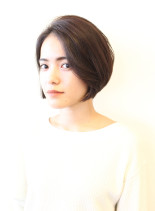 大人気大人のひし形シルエットショート(髪型ショートヘア)