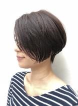 大人女子オーダーNo.1グラボブ(髪型ショートヘア)