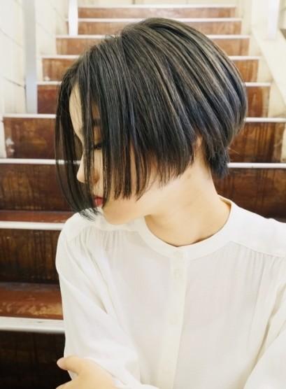 40代50代の方にもオススメショートボブ(髪型ショートヘア)