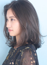 ◇大人のナチュラルロブ◇(髪型ミディアム)