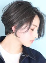 大人ハイベーシックショートボブ★(髪型ショートヘア)