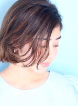 小顔カールボブ☆(髪型ボブ)