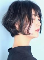 ◇大人クールな◇小顔ショートボブ(髪型ショートヘア)