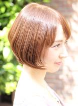 大人女性の艶ボブ(髪型ボブ)