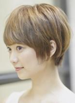 大人のショートヘア(髪型ショートヘア)