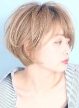 ◇外国人風◇フェミニンショート(髪型ショートヘア)