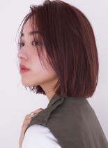 大人のカジュアルなボブ☆(髪型ボブ)