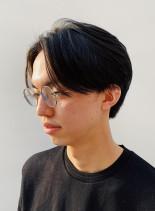 2ブロックハンサムショート(髪型メンズ)