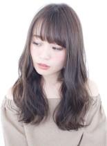 大人可愛いゆるふわウェーブパーマ(髪型ロング)