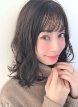 ヒットスタイル!ゆるふわミディ(髪型ミディアム)