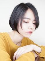 髪形40代50代ショートボブスタイル(髪型ボブ)
