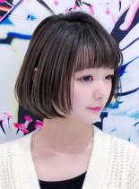 ショートボブレイヤー(髪型ボブ)