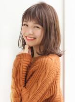 束感たっぷり大人カジュアルくびれミディ(髪型ミディアム)