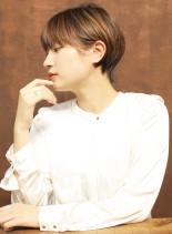 大人可愛い美人ショート(髪型ショートヘア)