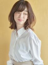 くびれミディ(髪型ミディアム)