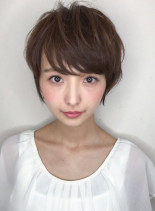 骨格に合わせたシルエットショート☆(髪型ショートヘア)