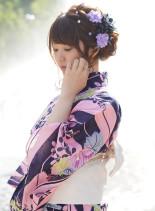王道編み込みルーズアップ(髪型ミディアム)