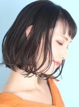 大人のための上質ニュアンスボブ☆(髪型ボブ)