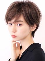 ☆大人の耳掛けショート☆(髪型ショートヘア)