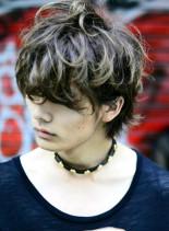 ストリート感あるオシャレミディ(髪型メンズ)