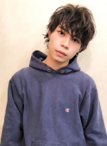 ★クラウドマッシュソフトウルフ★(髪型メンズ)